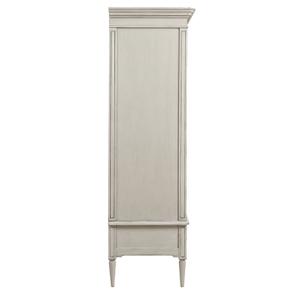Armoire 2 portes 3 tiroirs en pin blanc craie – Montaigne - Visuel n°7