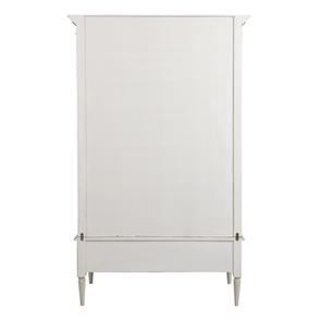 Armoire 2 portes 3 tiroirs en pin blanc craie – Montaigne - Visuel n°9