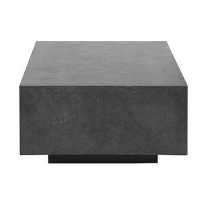 Table basse rectangulaire en pierre bleue - Minéral - Visuel n°8