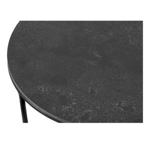 Bout de canapé avec plateau en pierre bleue - Minéral - Visuel n°6