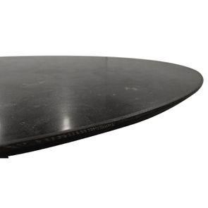Table ovale plateau en pierre bleue - Minéral - Visuel n°4