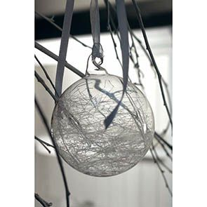 Boules en verre transparent (lot de 6)