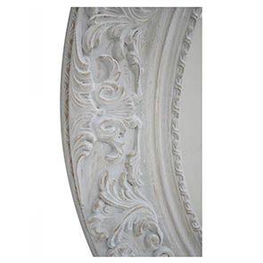 Grand miroir rond en bois - Visuel n°3