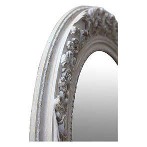 Grand miroir rond en bois - Visuel n°4
