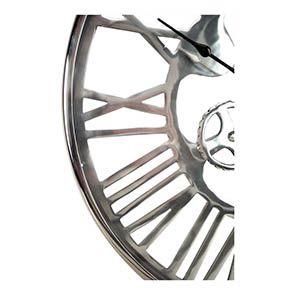 Horloge en métal chromé - Visuel n°3