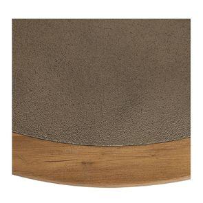 Table basse ronde contemporaine en acacia massif - Organic - Visuel n°10