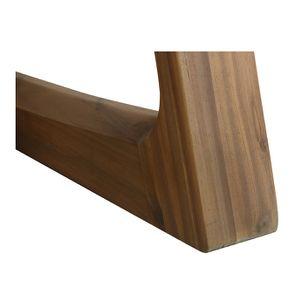 Table ovale contemporaine en acacia massif - Organic - Visuel n°9