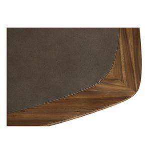 Table ovale contemporaine en acacia massif - Organic - Visuel n°11