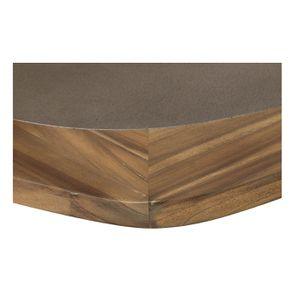 Table ovale contemporaine en acacia massif - Organic - Visuel n°12