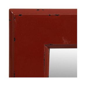 Miroir rectangulaire en bois rouge Séville