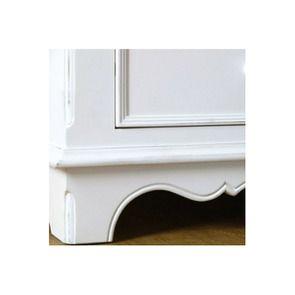 Armoire penderie blanche 2 portes en bois - Harmonie - Visuel n°5