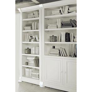 Set de finition pour bibliothèques modulables en bois blanc - Harmonie - Visuel n°2