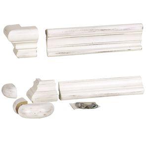 Set de finition pour bibliothèques modulables en bois blanc - Harmonie - Visuel n°4