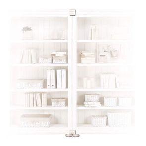 Set de jonction pour bibliothèques modulables en bois blanc - Harmonie - Visuel n°2