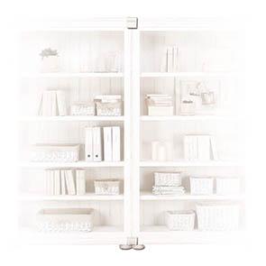 Set de jonction pour bibliothèques modulables en bois blanc - Harmonie - Visuel n°3