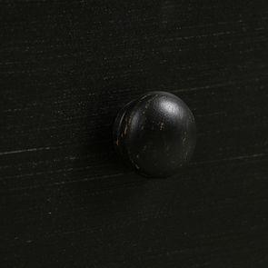 Commode noire baroque 4 tiroirs - Harmonie - Visuel n°12