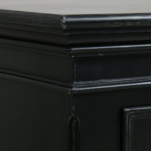 Commode 5 tiroirs noire - Harmonie - Visuel n°8