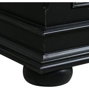Commode 5 tiroirs noire - Harmonie - Visuel n°9