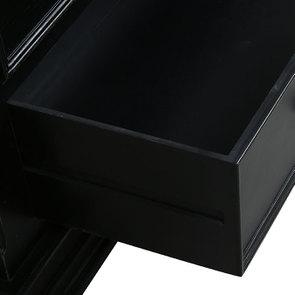 Commode 5 tiroirs noire - Harmonie - Visuel n°11