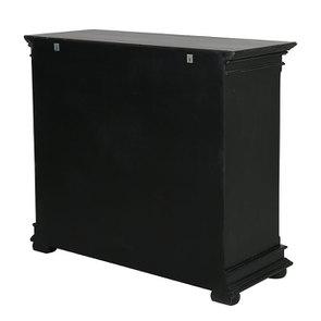 Commode 5 tiroirs noire - Harmonie - Visuel n°4