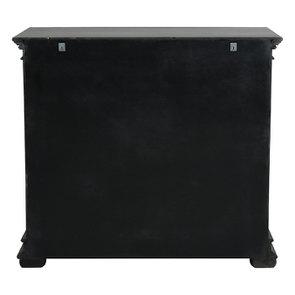 Commode 5 tiroirs noire - Harmonie - Visuel n°5