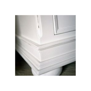 Table de chevet blanche 1 tiroir - Harmonie - Visuel n°5