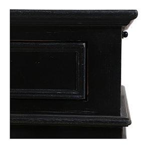 Bureau informatique noir avec tiroirs - Harmonie - Visuel n°10