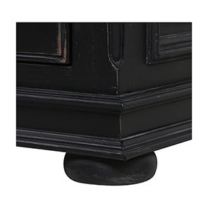 Bureau informatique noir avec tiroirs - Harmonie - Visuel n°11
