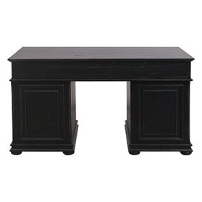 Bureau informatique noir avec tiroirs - Harmonie - Visuel n°7