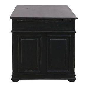 Bureau informatique noir avec tiroirs - Harmonie - Visuel n°8
