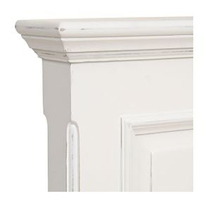 Lit 140x190 en bois blanc - Harmonie - Visuel n°7