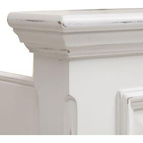 Lit 140x190 en bois blanc - Harmonie - Visuel n°8