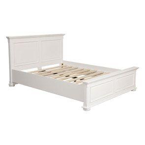 Lit 140x190 en bois blanc - Harmonie - Visuel n°3