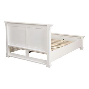 Lit 140x190 en bois blanc - Harmonie - Visuel n°4