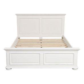 Lit 140x190 en bois blanc - Harmonie - Visuel n°6