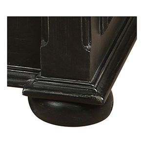 Lit 160x200 avec tiroirs en bois noir - Harmonie - Visuel n°6
