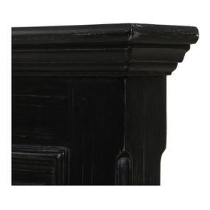 Tête de lit 160 noire en bois - Harmonie - Visuel n°8