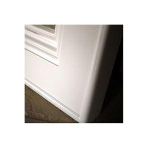 Miroir rectangulaire blanc en bois - Harmonie - Visuel n°3