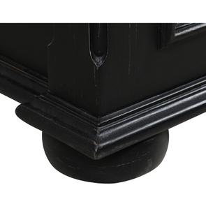 Lit 180x200 avec tiroirs en bois noir - Harmonie - Visuel n°3