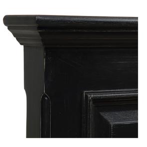 Lit 180x200 avec tiroirs en bois noir - Harmonie - Visuel n°5