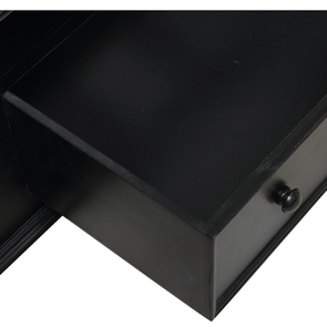 Lit 180x200 avec tiroirs en bois noir - Harmonie - Visuel n°6
