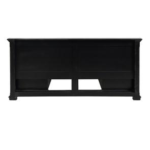 Lit 180x200 avec tiroirs en bois noir - Harmonie - Visuel n°17