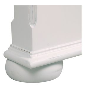 Tête de lit 90 blanche en bois - Harmonie