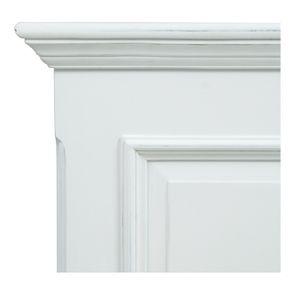 Tête de lit 180 blanche en bois - Harmonie - Visuel n°7