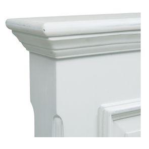 Tête de lit 180 blanche en bois - Harmonie - Visuel n°8