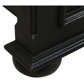 Lit 180x200 en bois noir - Harmonie