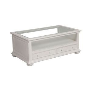 Table basse blanche rectangulaire - Harmonie - Visuel n°6