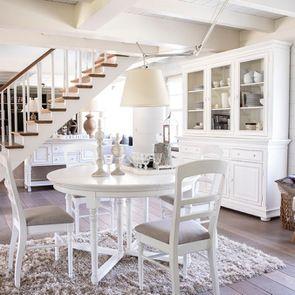 Buffet vaisselier blanc 3 portes vitrées - Harmonie - Visuel n°4