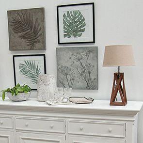 Panneau décoratif effet ciment fleurs - Visuel n°3