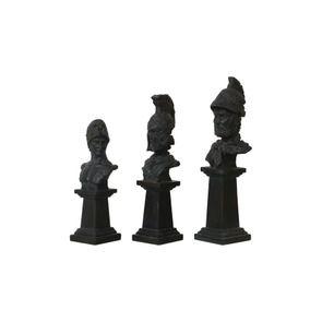 Statuettes trio de statues gladiateurs